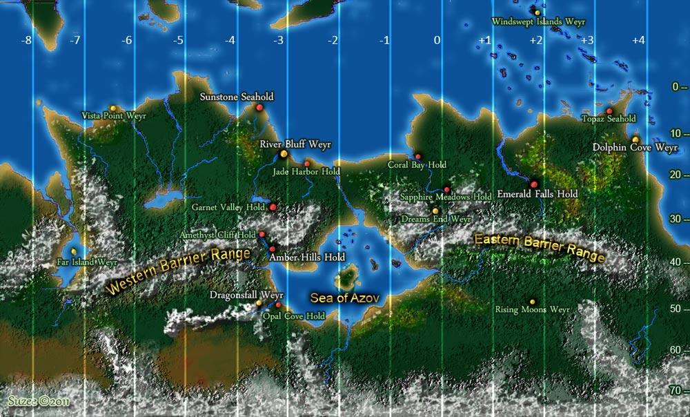 Triad Weyrs Map